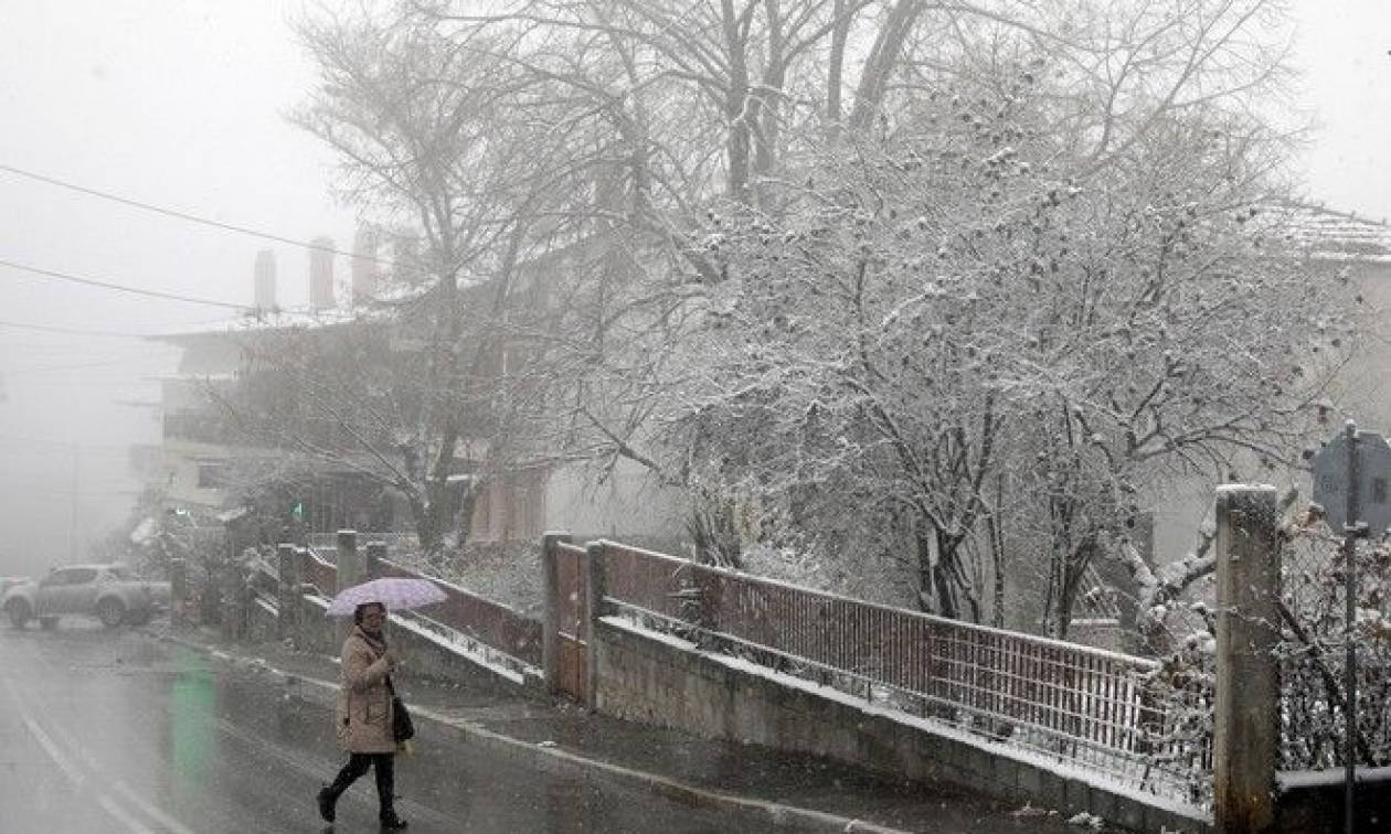 Καιρός - Η ΕΜΥ προειδοποιεί: Νέο κύμα κακοκαιρίας με χιόνια σε Αθήνα και Θεσσαλονίκη