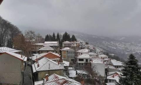 Καιρός Σήμερα: Με χαμηλές θερμοκρασίες η Παρασκευή - Δείτε που θα χιονίσει (pics)