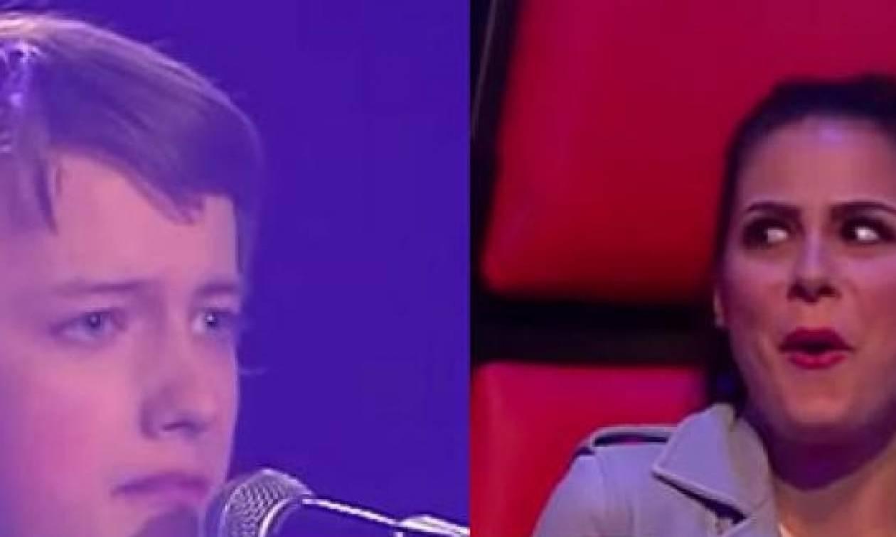 The Voice: 14χρονος τους άφησε όλους... άναυδους τραγουδώντας Ελβις Πρίσλεϊ (video)