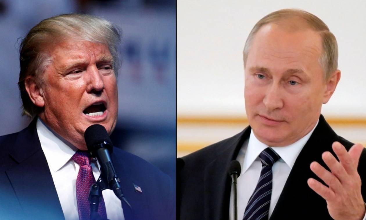 Όλα έτοιμα για το ιστορικό πρώτο τηλεφώνημα του Ντόναλντ Τραμπ στον Βλαντιμίρ Πούτιν