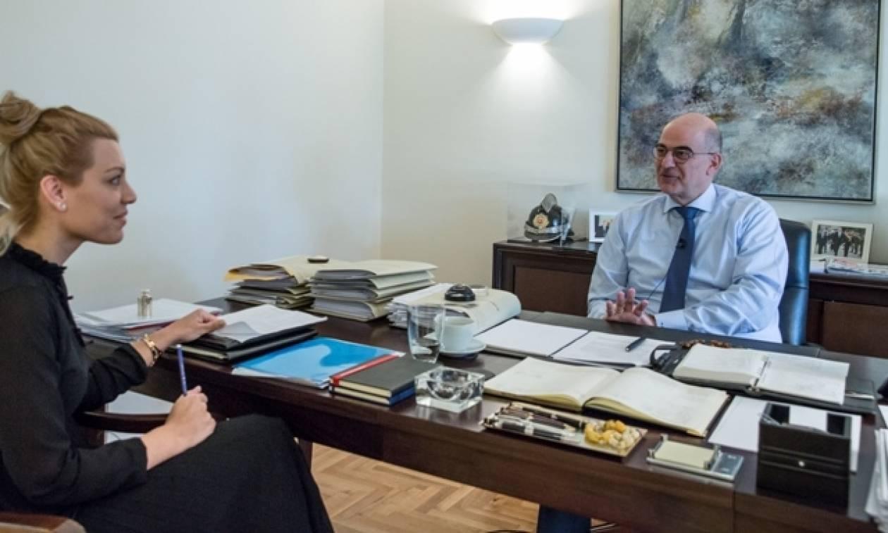 Δένδιας στο Newsbomb.gr: «Εκλογές τώρα-Θα μειώσουμε ΕΝΦΙΑ και φορολογικούς συντελεστές»