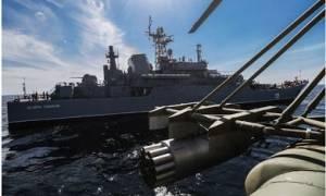 Mεγάλο ρωσικό αποβατικό έπλευσε στο Αιγαίο