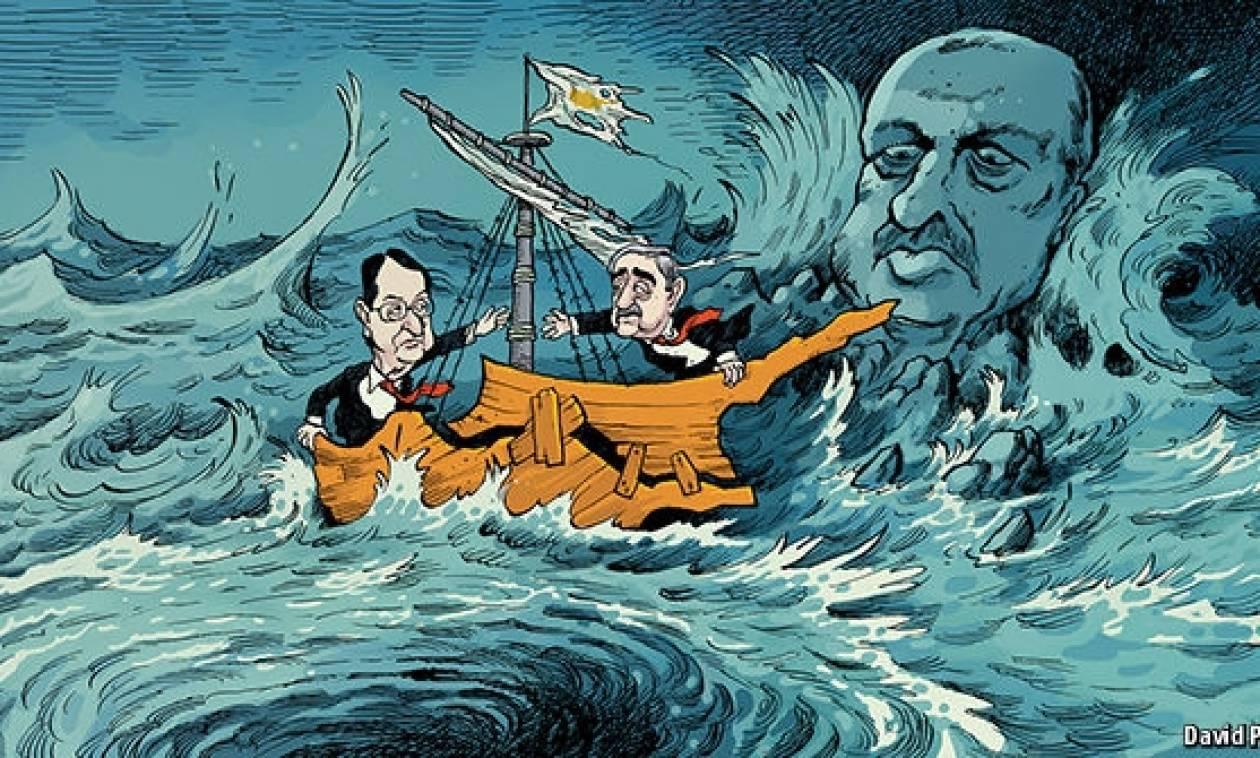 Economist: Ένωση της Κύπρου μόνο αν το επιτρέψει ο Ερντογάν