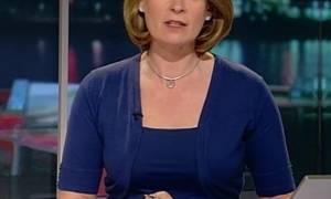Δημοσιογράφος διάβασε μια έρευνα και εμφανίστηκε γυμνή στην εκπομπή της! (pics)