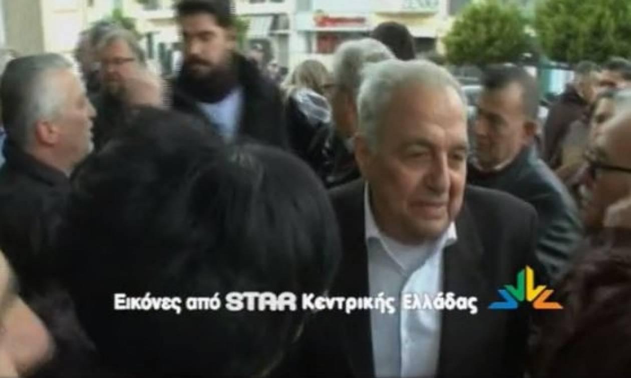 Τα «άκουσε» ο Φλαμπουράρης στη Χαλκίδα (video)