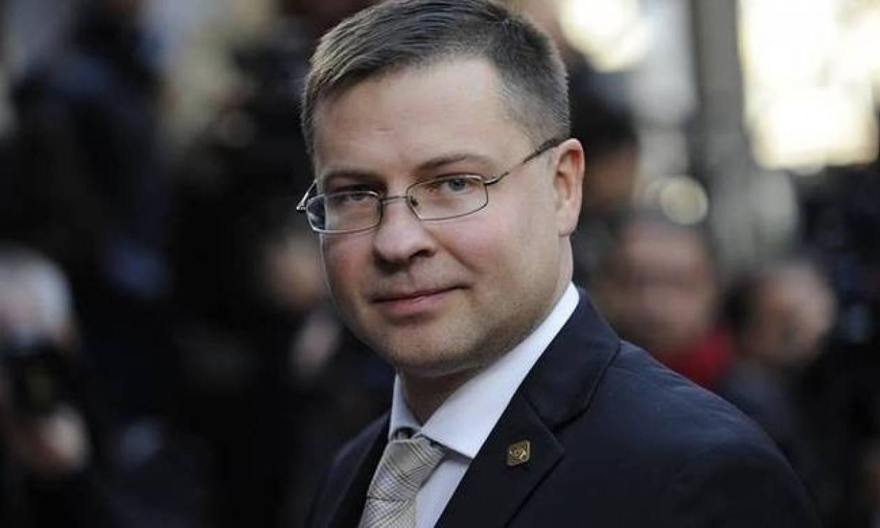 Ντομπρόβσκις: Εφικτή η συμφωνία για την ολοκλήρωση της αξιολόγησης