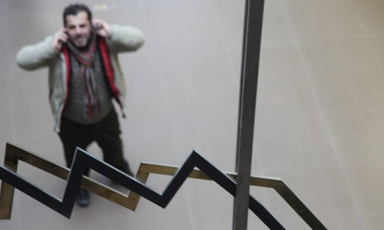 «Βουτιά» έκανε το Χρηματιστήριο με πτώση 3,52%