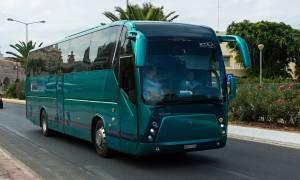 Τραγωδία στο Λασίθι: «Έσβησε» μέσα στο λεωφορείο