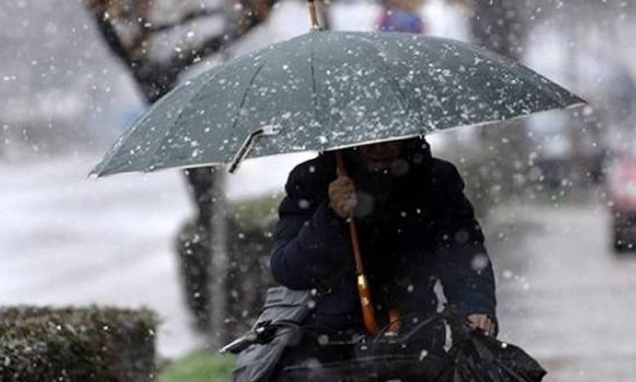 Καιρός: Τσουχτερό κρύο και βροχές το Σαββατοκύριακο