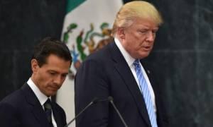 Συμφωνία Τραμπ και Νιέτο για «σιγή ασυρμάτου» σχετικά με το τείχος