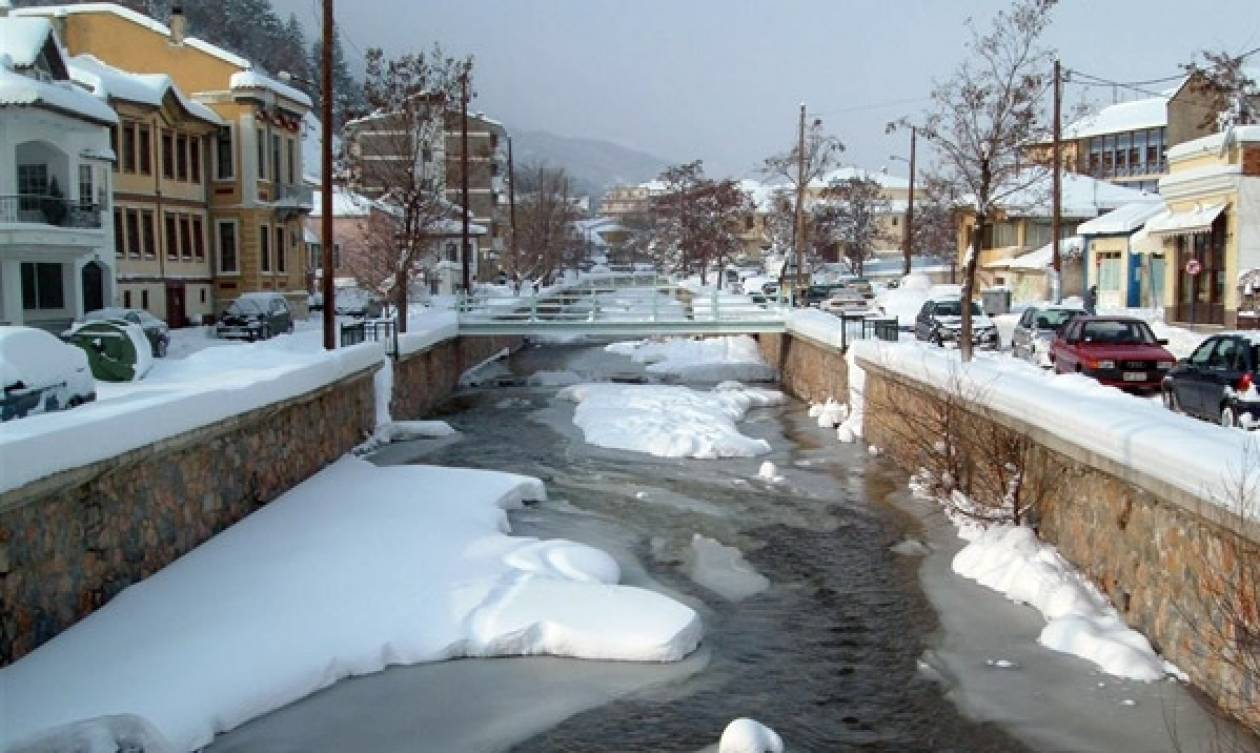 Η μαγική φωτογραφία από τη χιονισμένη Φλώρινα που έγινε Viral στο διαδίκτυο (photo)