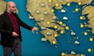Σάκης Αρναούτογλου: Προσοχή στην παγωμένη ομίχλη και την πάχνη, επιστρέφουν τα χιόνια (video)