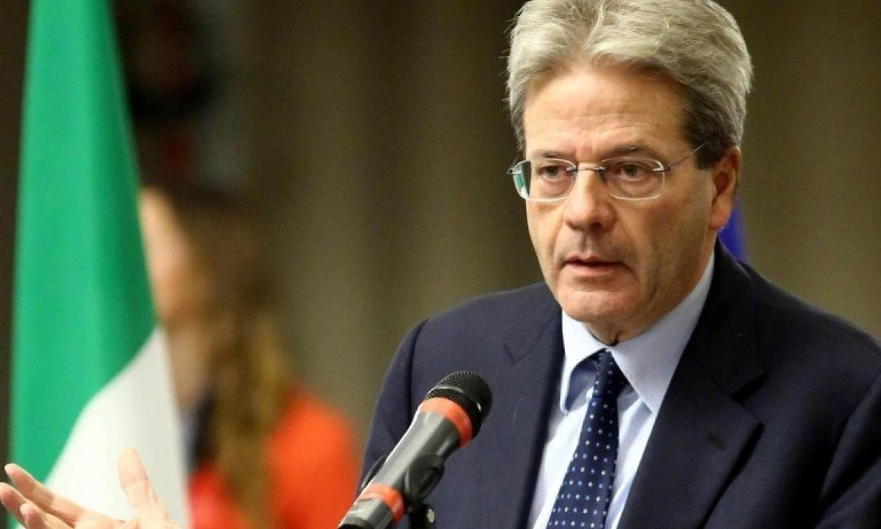 Τζεντιλόνι: Η χώρα δεν θα δεχθεί την επιβολή εκτάκτων μέτρων