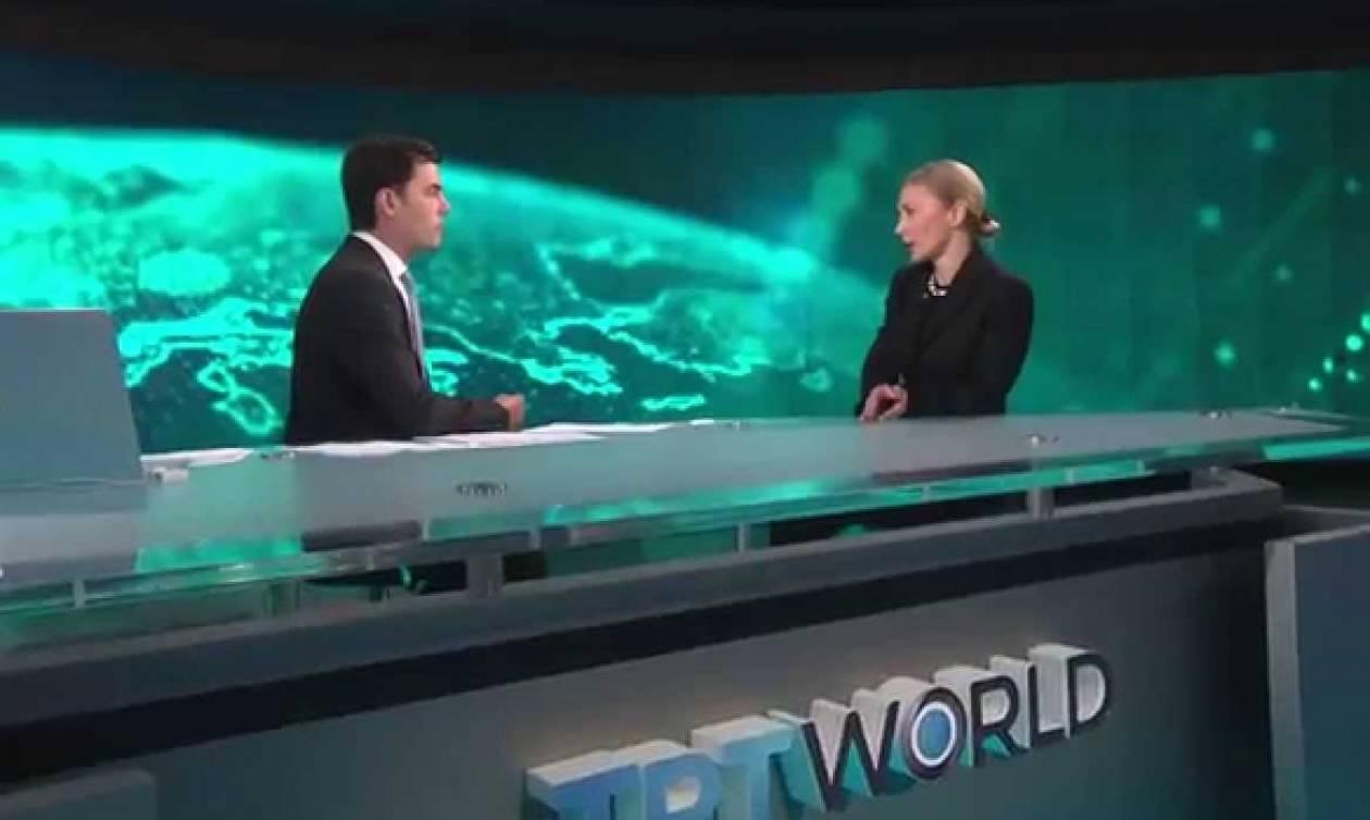 Tο τουρκικό TRT World εκπέμπει σε όλο τον κόσμο