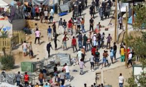 Μυτιλήνη: Στην ίδια σκηνή βρέθηκαν νεκροί και οι δύο πρόσφυγες
