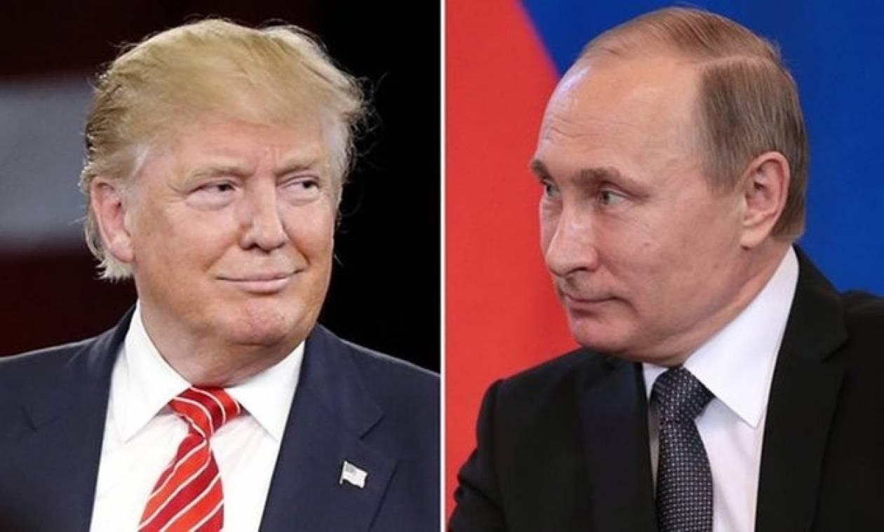 Τι συμφώνησαν Πούτιν και Τραμπ στο πρώτο ιστορικό τηλεφώνημα των δύο ηγετών