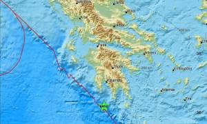 Σεισμός στην Πελοπόννησο