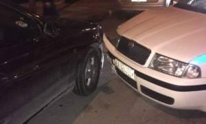 Θρασύτατη ληστεία στο κέντρο της Αθήνας: Εμβόλισαν περιπολικό και εξαφανίστηκαν (pics)