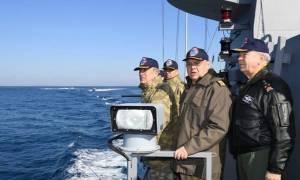 Καρέ καρέ η νέα ακραία τουρκική πρόκληση στα Ίμια (vid)