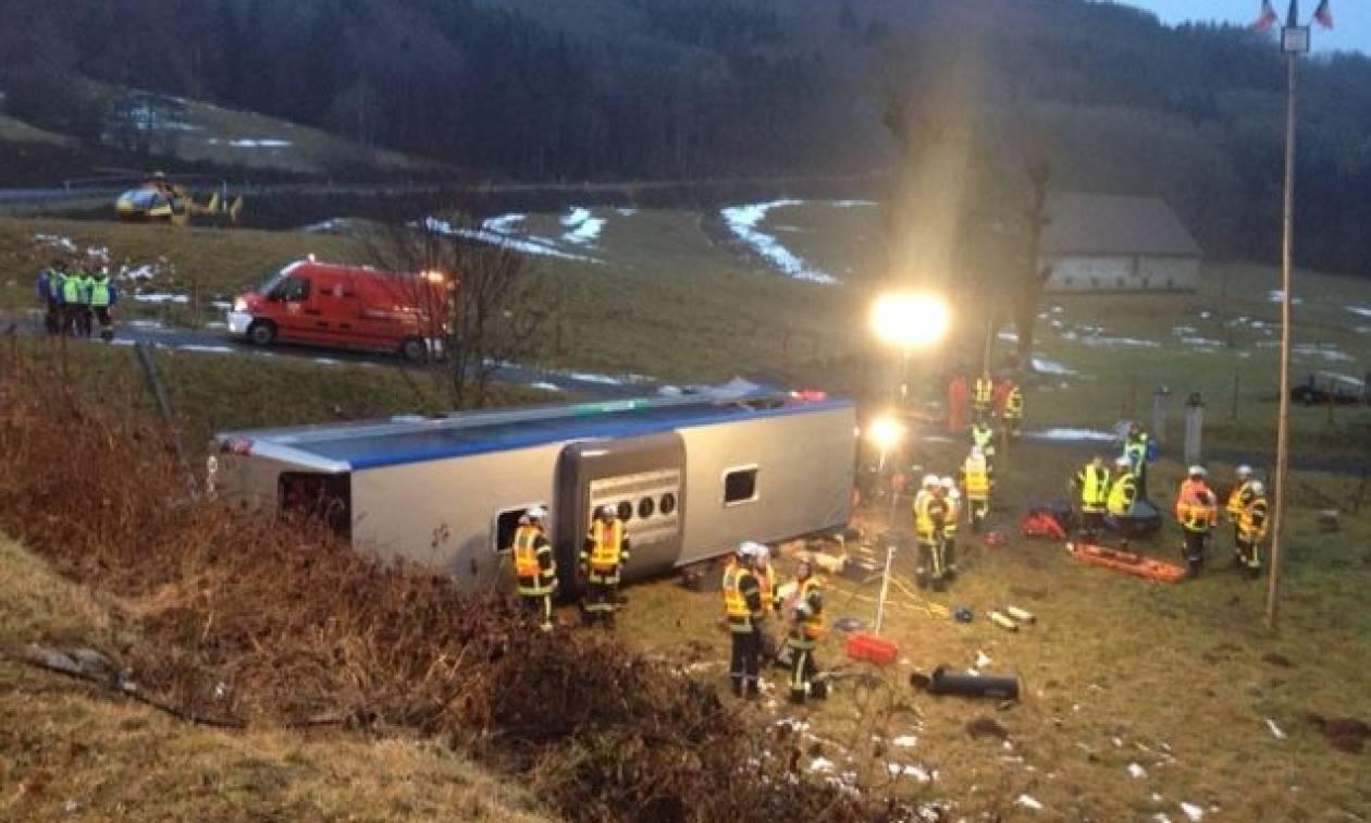 Γαλλία: Δυστύχημα με σχολικό λεωφορείο - Μία νεκρή και πολλοί τραυματίες