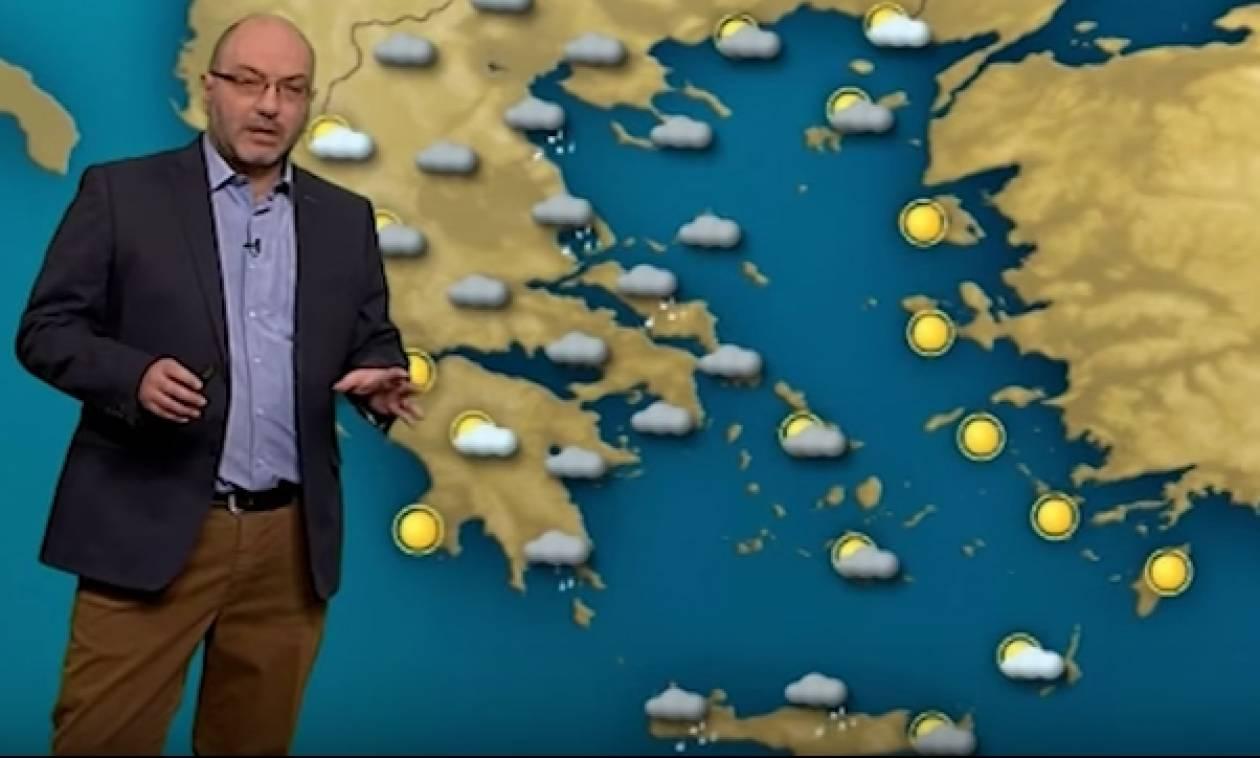 Καιρός: Τι προβλέπει για την εβδομάδα ο Σάκης Αρναούτογλου; (Video)