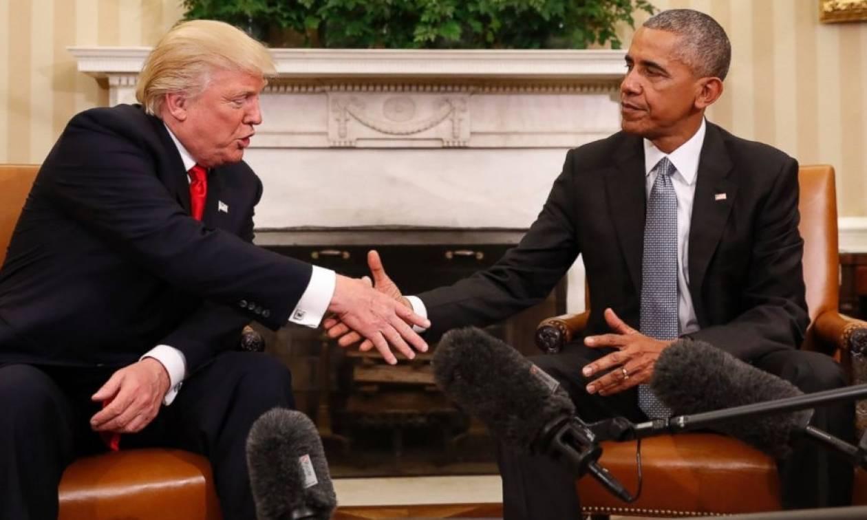 Απαράδεκτος! Ο Ομπάμα υποκινεί διαδηλώσεις εναντίον του Τραμπ