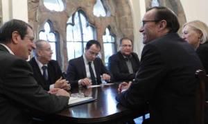 Κυπριακό: Κρίσιμης σημασίας η συνάντηση των ηγετών την Τετάρτη, δηλώνει ο Άιντε