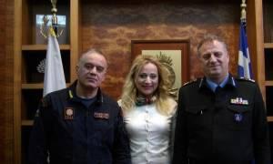 Το ντοκιμαντέρ για την ΕΜΑΚ της Α. Κρικέλη χειροκρότησε ο Αρχηγός του Πυροσβεστικού Σώματος