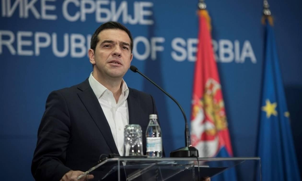Τσίπρας: Η Ελλάδα και η επιχειρηματική κοινότητα θα είναι παρούσες στα Βαλκάνια