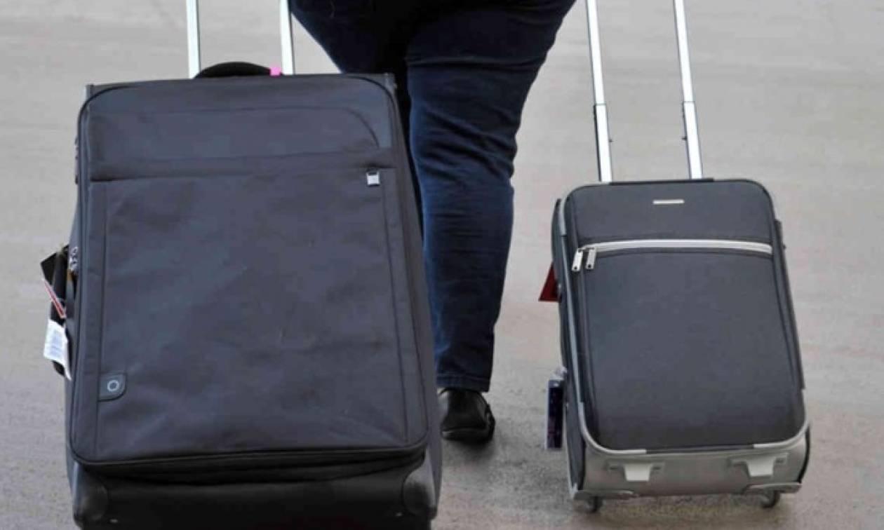 Απίστευτο: Δείτε τι έκρυβε βαλίτσα στη Θεσσαλονίκη και έτρεχαν όλοι να…