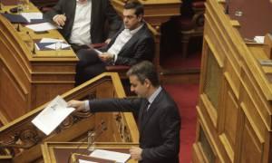 Βουλή LIVE: «Πόλεμος» Τσίπρα - Μητσοτάκη για τα θαλασσοδάνεια ΜΜΕ και κομμάτων