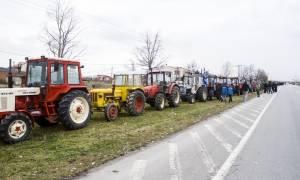 Μπλόκα αγροτών 2017: Κλειστή η Εθνική Οδός Θεσσαλονίκη – Σερρών