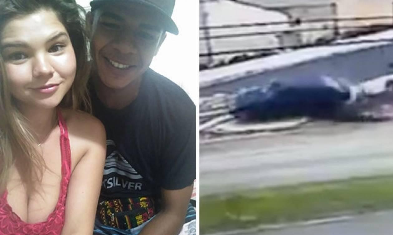Βίντεο - σοκ: Πάτησε το σύντροφο της πρώην του με το αυτοκίνητο και βγήκε να αποτελειώσει και αυτήν!