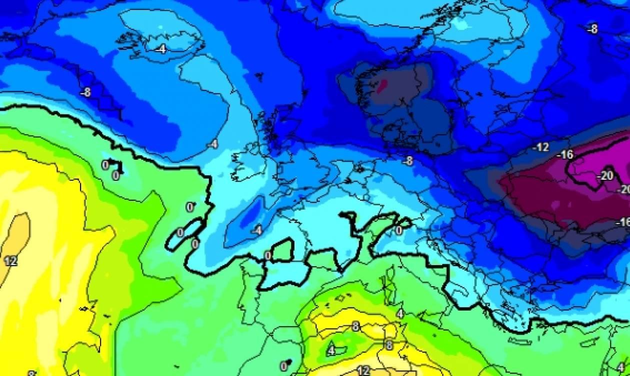 Καιρός: Οργανώνεται νέα ψυχρή εισβολή... με χαρακτηριστικά Αριάδνης από τις 10 Φλεβάρη (Χάρτες)