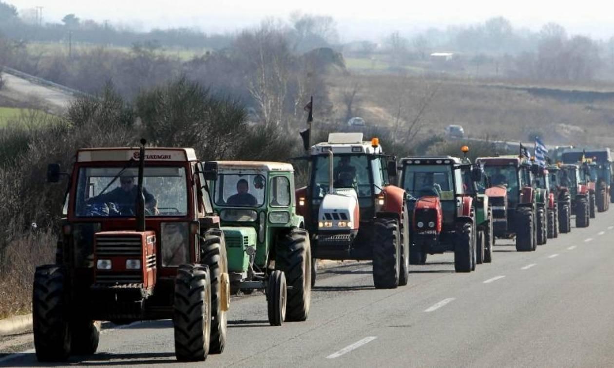 Μπλόκα αγροτών 2017: Τα τρακτέρ έτοιμα να αποκλείσουν το κέντρο της Θεσσαλονίκης