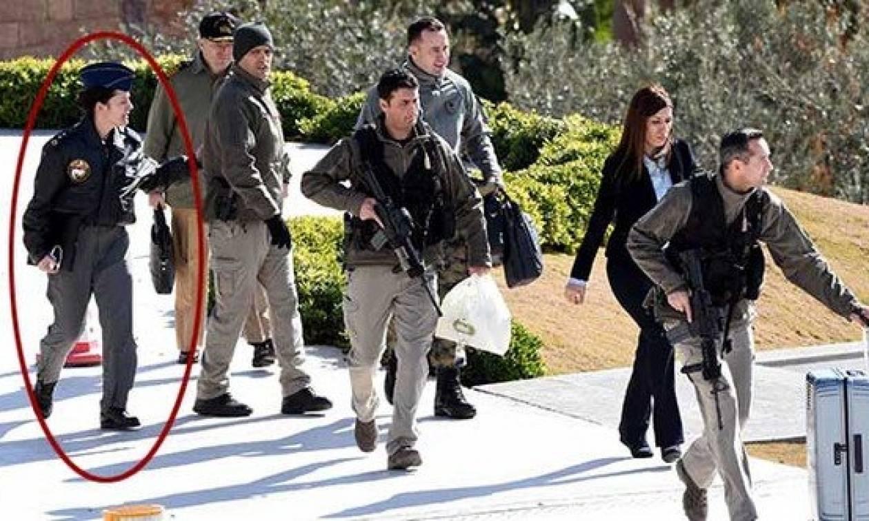 Συνελήφθη η αντισμήναρχος που συνόδευε τον Τούρκο Αρχηγό Στρατού στα Ίμια (Pics)