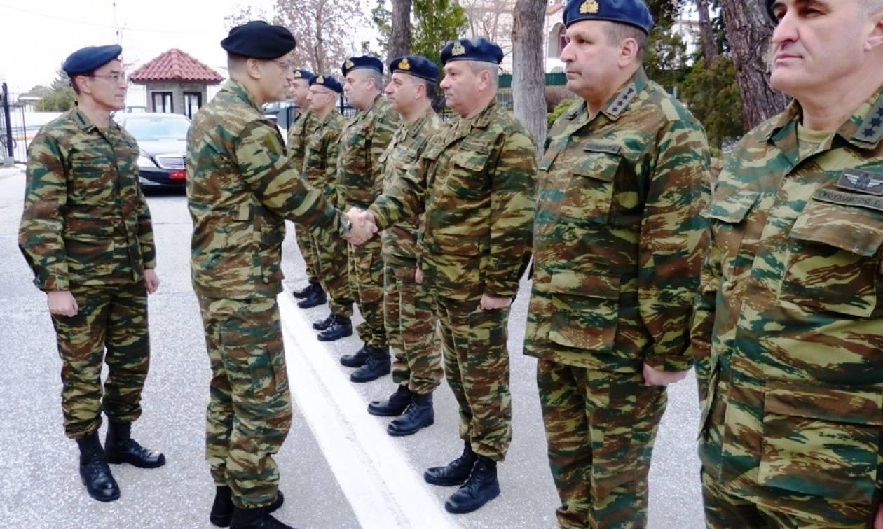 Επίσκεψη Αρχηγού Γενικού Επιτελείου Στρατού στην Περιοχή Ευθύνης του Δ΄ Σώματος Στρατού