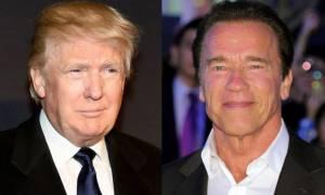 ΗΠΑ: Τα «βέλη» Τραμπ κατά Σβαρτσενέγκερ!
