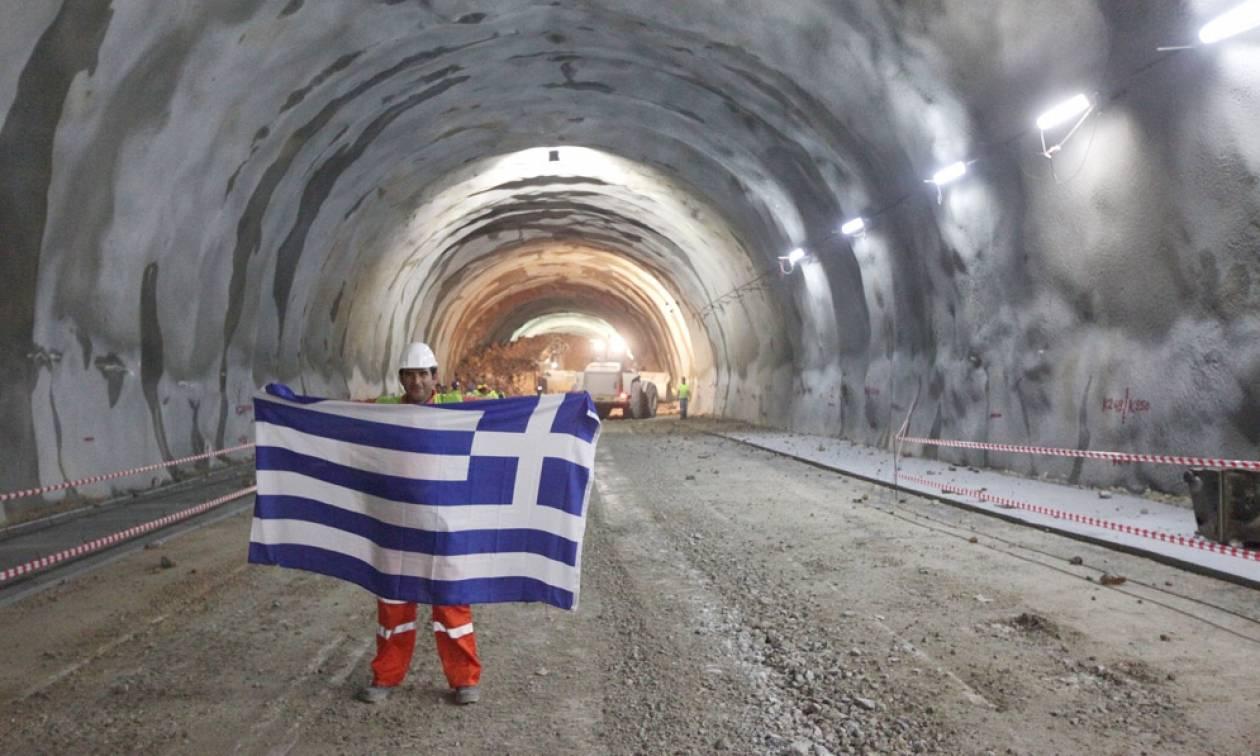 Ολοκληρώθηκε η μεγαλύτερη σήραγγα των Βαλκανίων και είναι στην Ελλάδα!