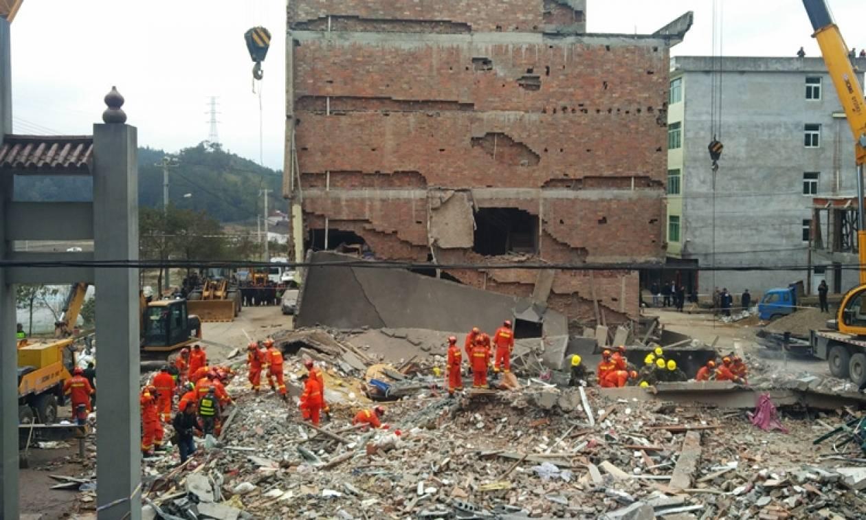 Κίνα: Επτά νεκροί από κατάρρευση πολυκατοικίας