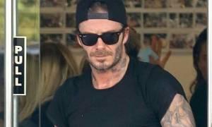 Ο David Beckham «πιάστηκε» στα πράσα με σέξι και διάσημη κυρία