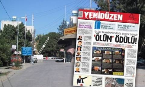 Σάλος με τη «λίστα θανάτου» Τουρκοκυπριακού περιοδικού!