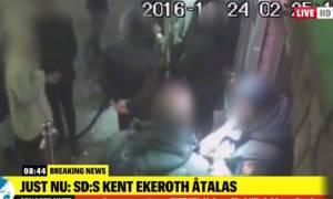 Σουηδία: Απαγγέλθηκαν κατηγορίες σε ακροδεξιό βουλευτή που χαστούκισε πολίτη έξω από κλαμπ (video)