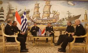 Πολεμικό Ναυτικό: Επίσημη επίσκεψη  Αρχηγού ΓΕΝ στην Αίγυπτο (pics)
