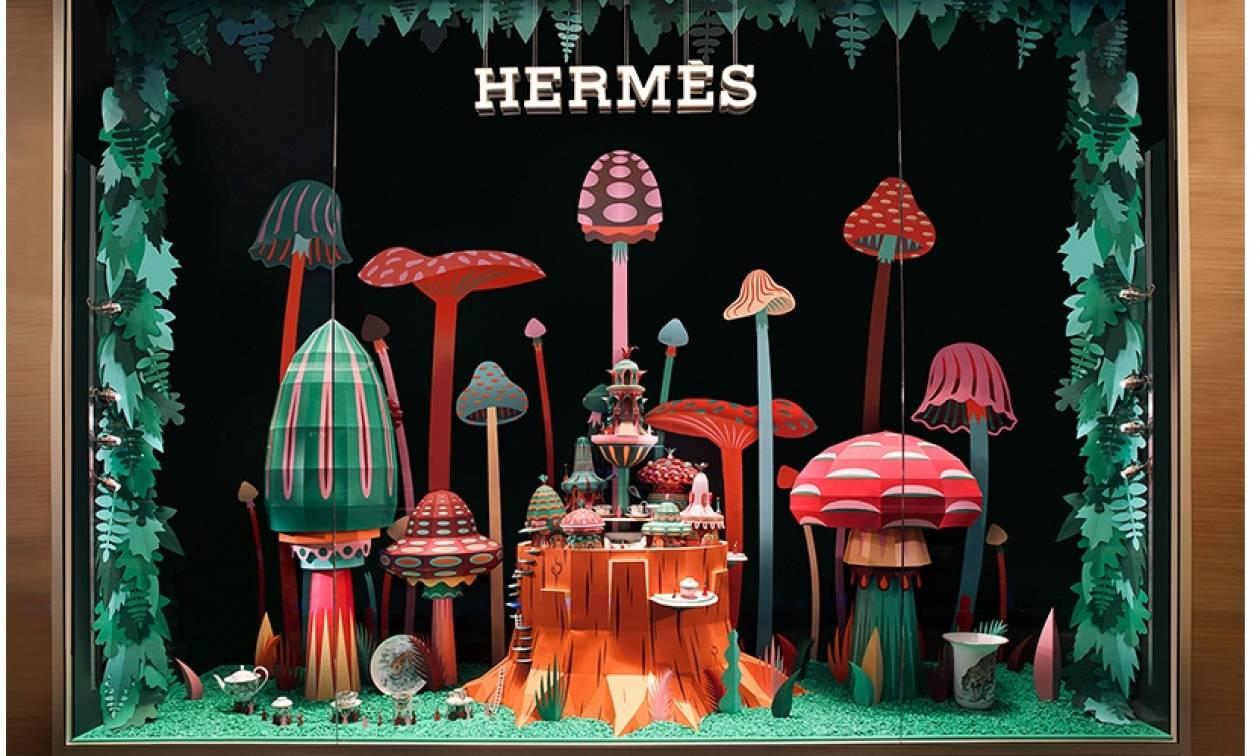 Δείτε τη βιτρίνα του καινούργιου Hermès στο Ντουμπάι (pics)