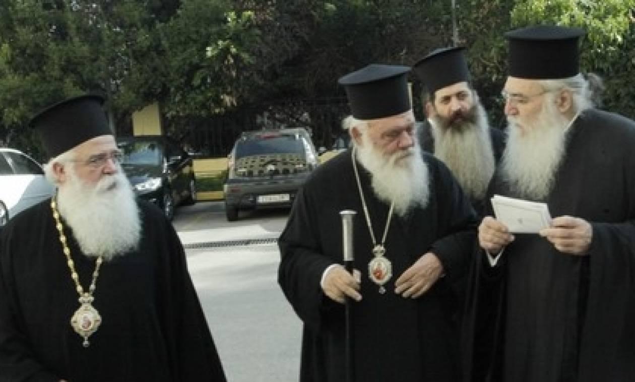 Αρχιεπίσκοπος Αθηνών για εκκλησιαστική περιουσία:«Mιλάμε για μια περιουσία που είναι δεσμευμένη»