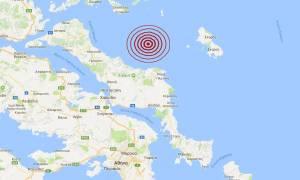 Σεισμός κοντά στην Κύμη (pics)