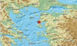 Σεισμός στην Τουρκία κοντά στη Μυτιλήνη