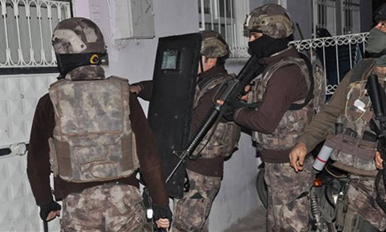Εκατοντάδες συλλήψεις «μελών» του ISIS στην Τουρκία σε δύο μόλις ημέρες