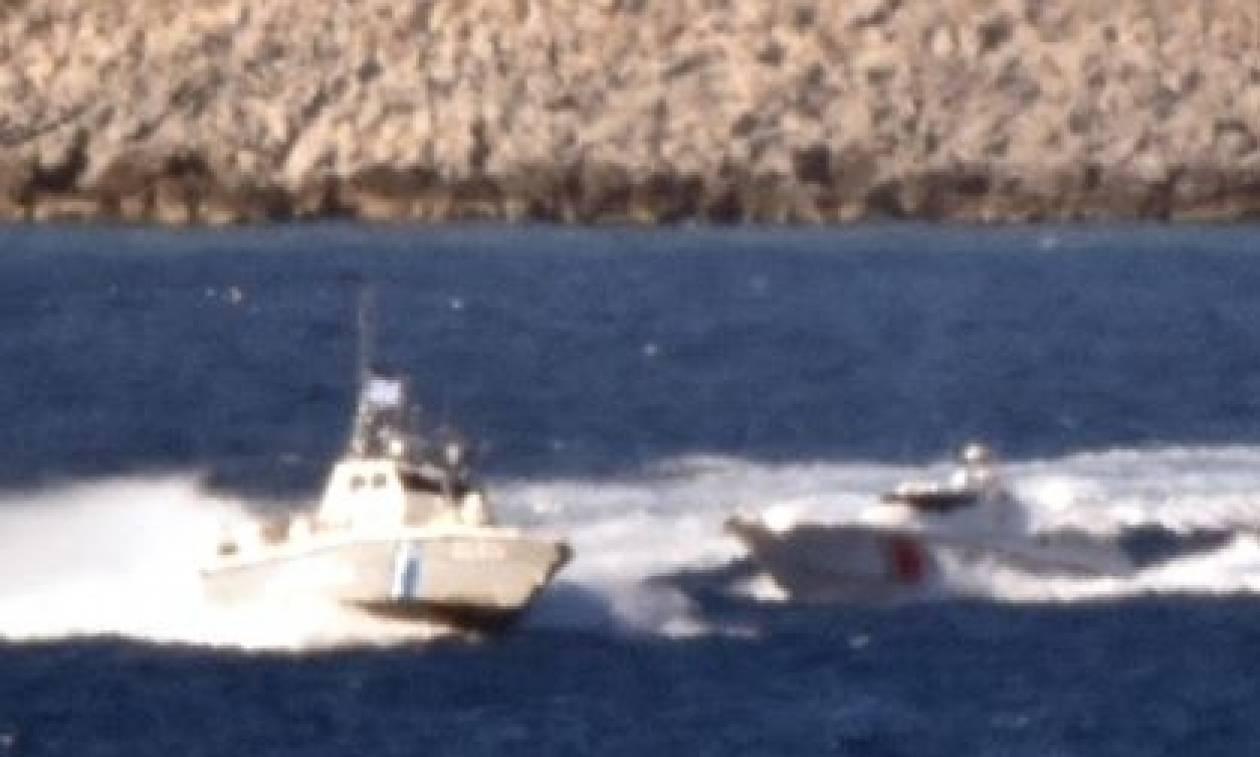Συγκλονιστικό βίντεο: Κυνηγητό Ελλήνων και Τούρκων γύρω από τα Ίμια